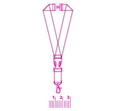 bedruckte Lanyards Schlüsselband Band Druck Werbeartikel Halsband Schlüsselband bestellen