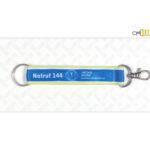Schlüsselanhänger mit Karabiner bedruckt bestellen