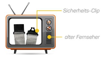 Sehr alter Fernseher