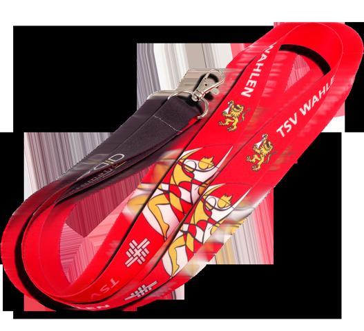 Lanyard Anhänger Band Werbung Halsband Druck